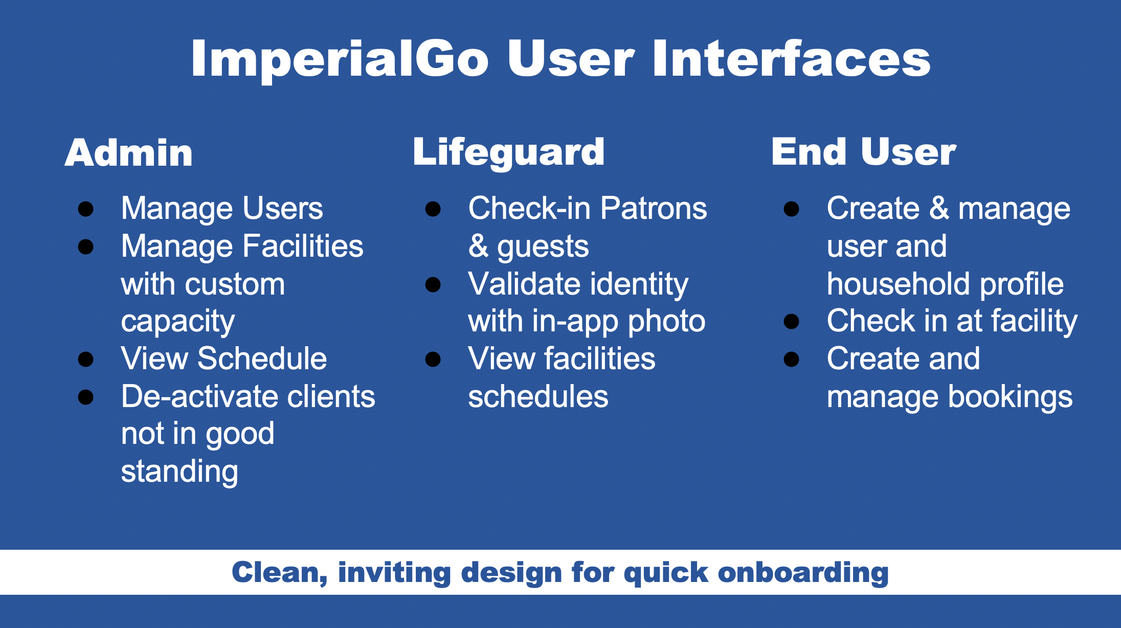 ImperialGo App